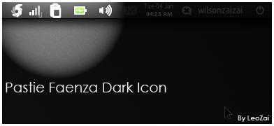 Pastie Faenza Dark Icon by cocooh