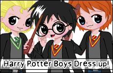 Harry Potter Boys Dress Up by adrybsk
