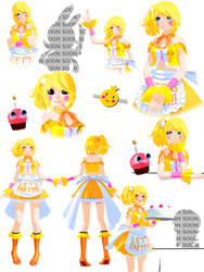 [MMD x FNaF] Toy Chica Ds Pole-Bear Dl by Szamankagaja