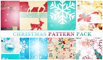 Christmas Pattern Pack by itskaname