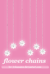 Flower Chains PSD