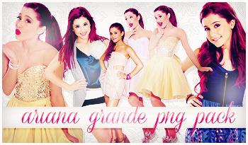 Ariana Grande Png pack by itskaname