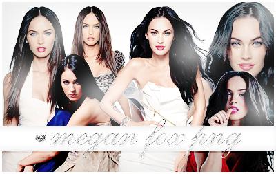 Megan Fox png pack by itskaname
