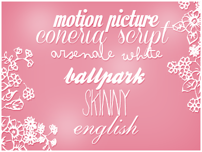 Fonts Pack by itskaname
