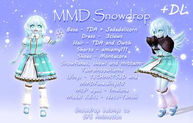 [MMD] Snowdrop +DL by Natt-Tenshi
