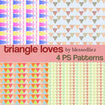 Triangle Loves: Triangle Patterns