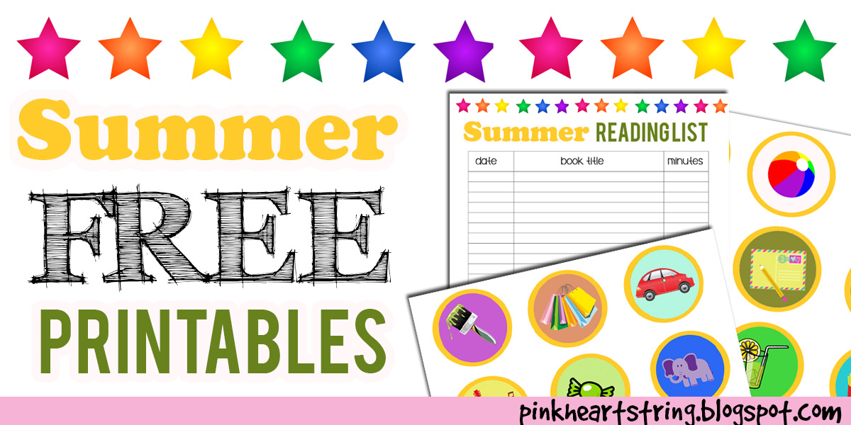 Summer Free Printables for Kids by blessedliez on DeviantArt