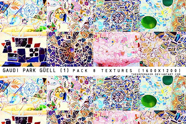 Gaudi Park Guell texture pack 1 by TheHopeMaker