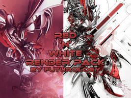 Red 'N' White render pack