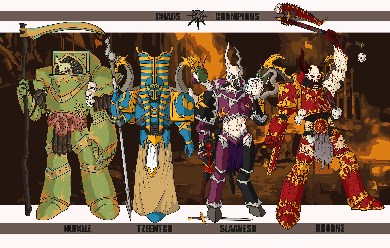 monia tyylejä Julkaisupäivä: hyvännäköinen Chaos Champions by Reaprycon on DeviantArt