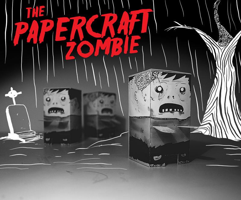 Papercraft Zombie by elmogwai