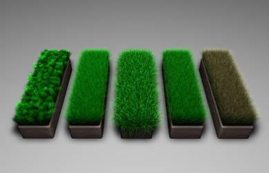Cinema 4D - Gress-Grass