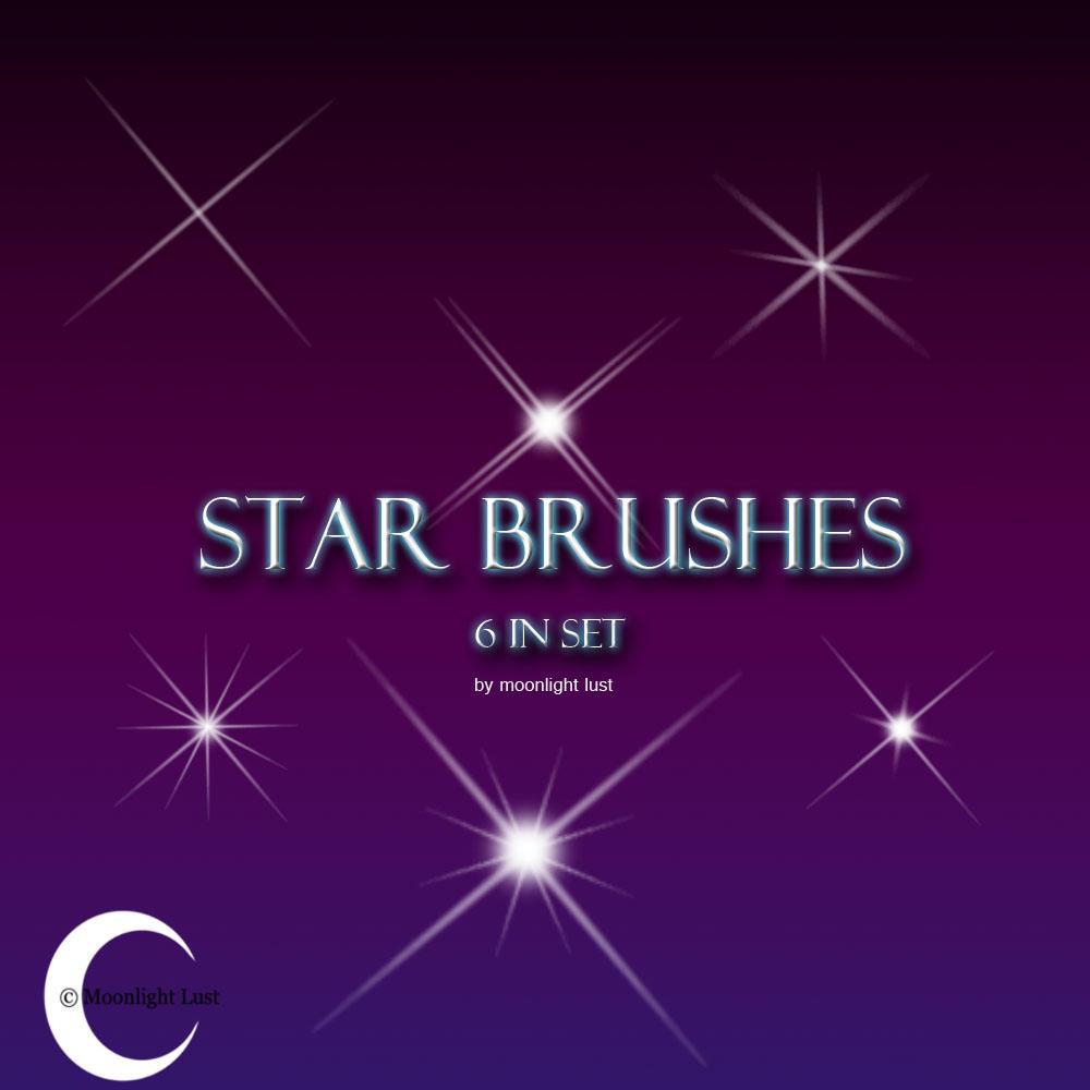 Star Brushes by moonlight-lust on DeviantArt