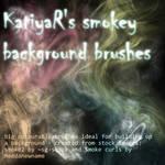 Smokey background brushes
