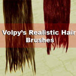 Realist Hair Brushes - Set 01