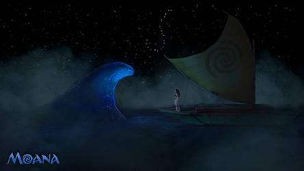 [CGI/3D Animation] I am Moana - Inspired by Disney