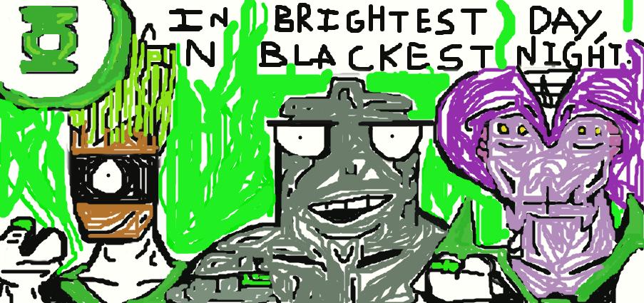 My favorite alien Green Lanterns by Xenotoonz9f