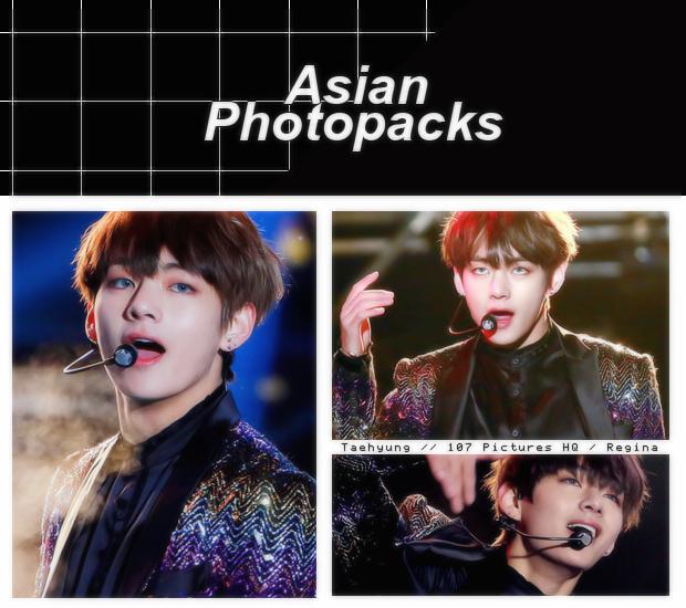 Photopack 1540 // V (BTS) by xAsianPhotopacks