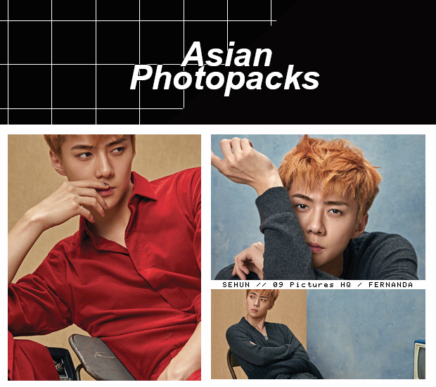 Photopack 1649 // SeHun (EXO) by xAsianPhotopacks