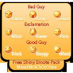 Free Shiny Emotes Pack by MixedMilkChOcOlate
