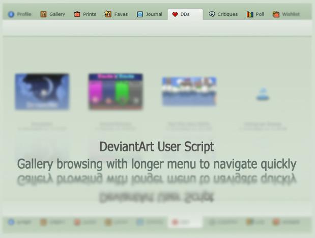 FREE DA UserScript Brows Fast