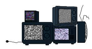{GIF} Static TVs by NoteS28