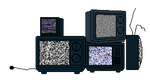 {GIF} Static TVs