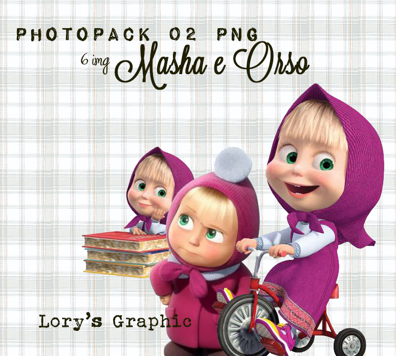Photopack Png 002 Masha E Orso By Lorysgraphic On Deviantart