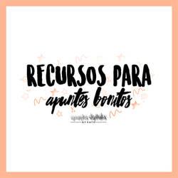 RECURSOS PARA APUNTES \\ 01