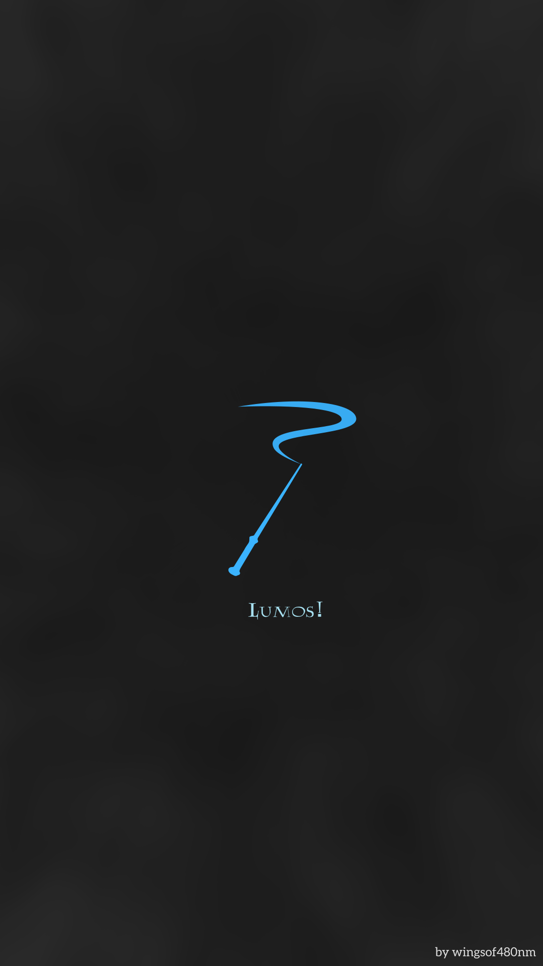 HP Minimalist Background-- Magic Wand by wingsof480nm on DeviantArt
