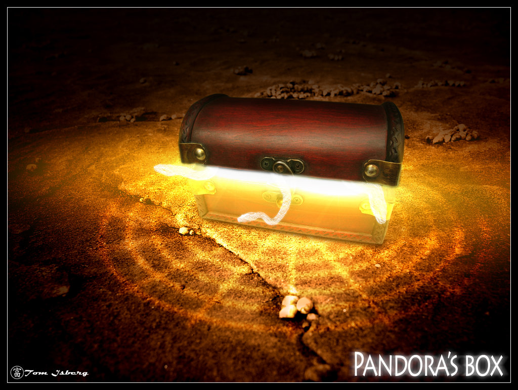 Pandora's Hope by GreenFlame00