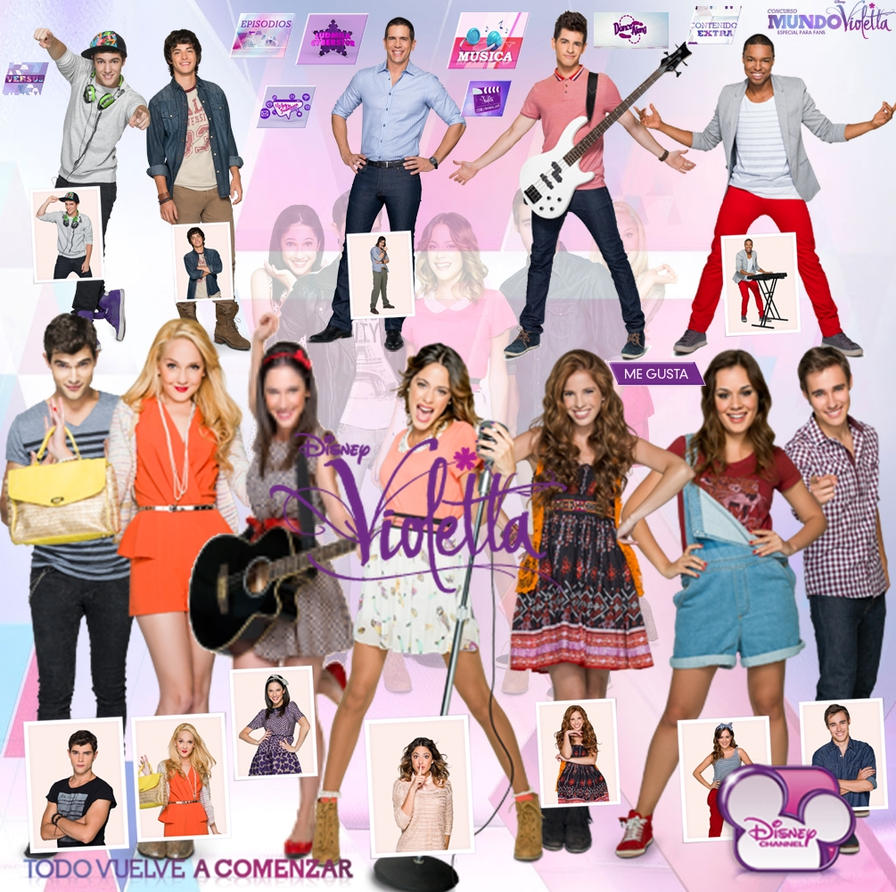 Pack Png Violetta 2 by RochiTinita