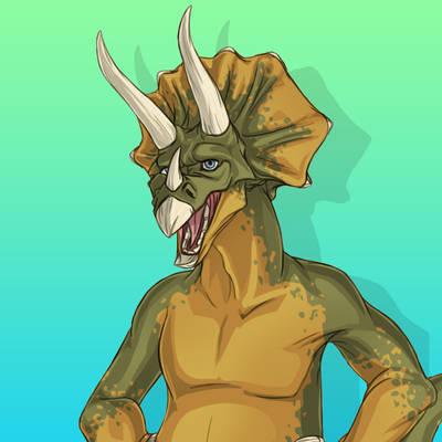 Triceratops Transformation [GIF]