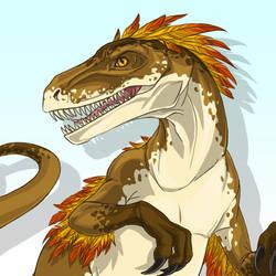 Velociraptor Transformation [GIF]