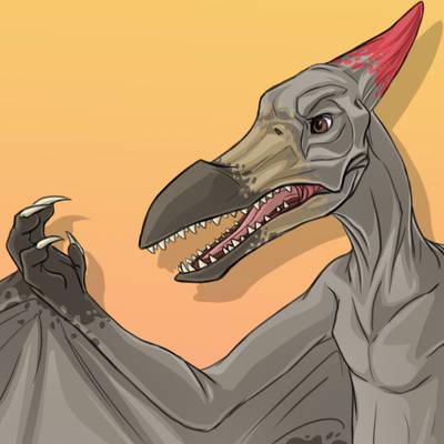 Pterosaur Transformation [GIF]
