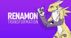 Renamon Transformation