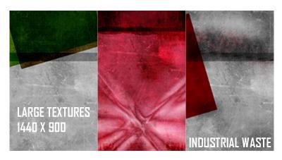 Large textures_industrialwaste by aaskie