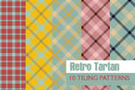 Retro Tartan - 10 patterns