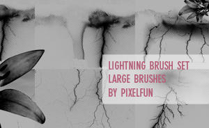 Lightning Brush set by aaskie