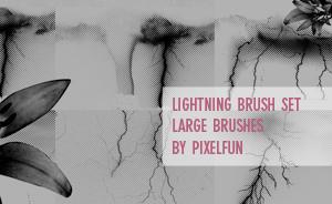 Lightning Brush set by aaskie