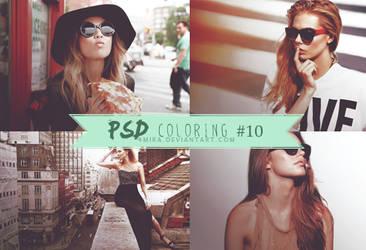 Peachy Rose PSD #10 by 4mira