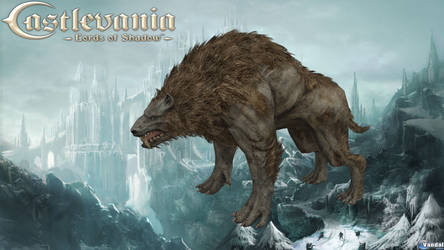 Castlevania: Lords of Shadow - Warg model