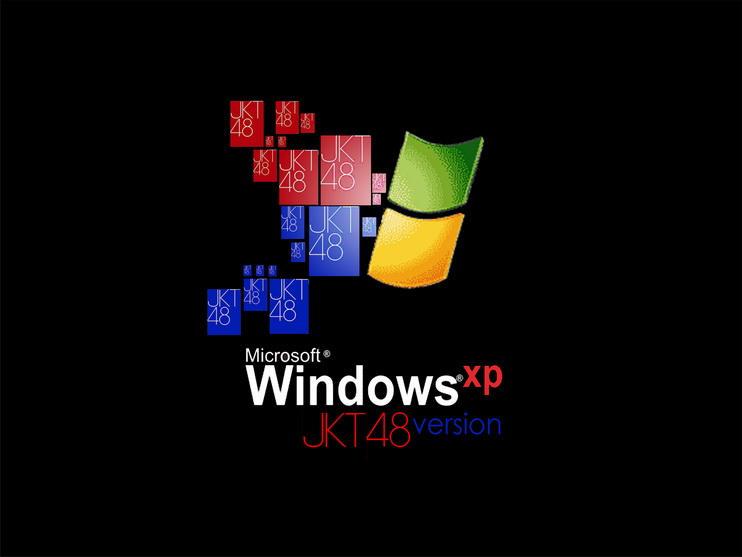 bootscreen jkt48 for windows xp by Muhammadtaufiq123
