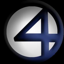 Fantastic 4 Dock Icon by ~Meganubis on deviantART