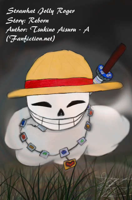 One Piece Fanfic - Reborn - OC!Luffy Jolly Roger by jaymeecsess on