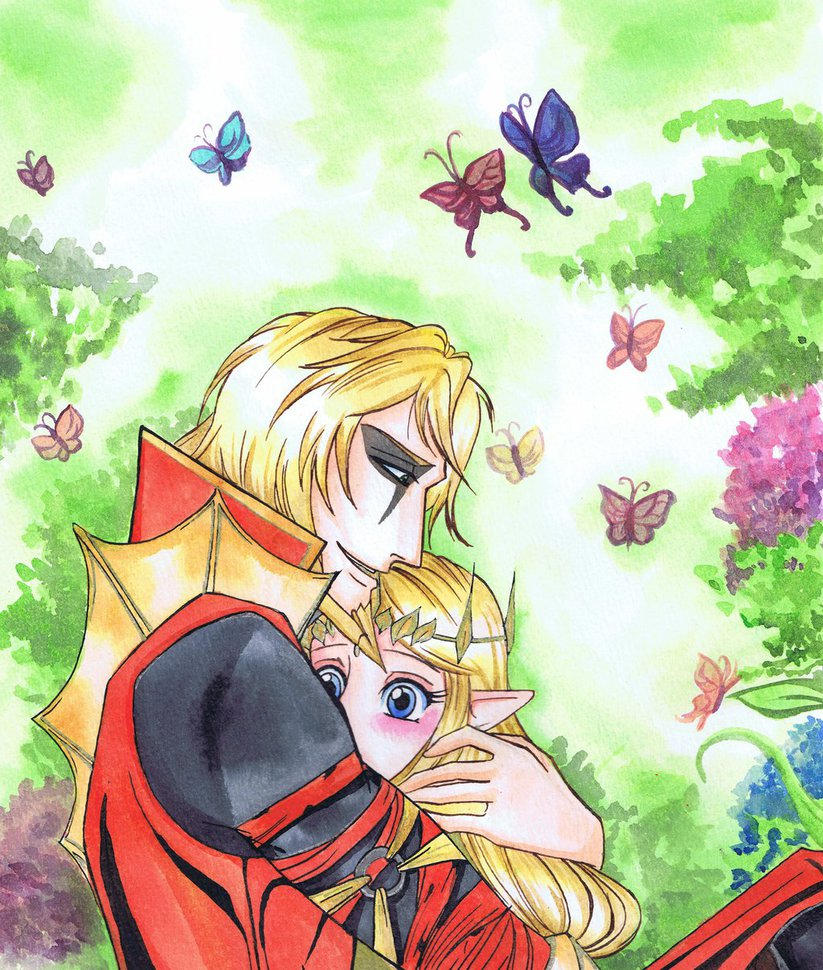 Princess And The Dragon Chapter 1 Volga X Zelda By Scriva On Deviantart