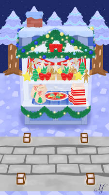 Pocket Camp Cookie Stall