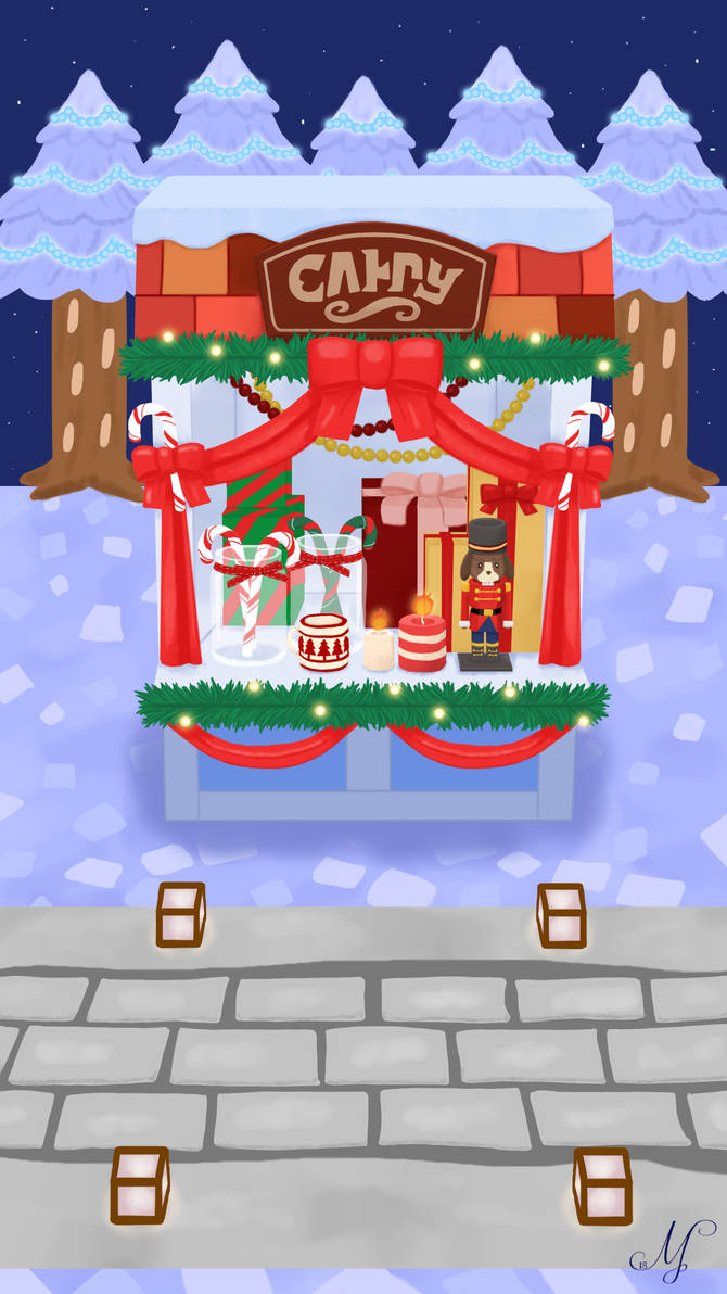 Pocket Camp Candy Stall