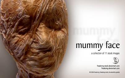 freaksmg-stock - mummy head by freaksmg-stock