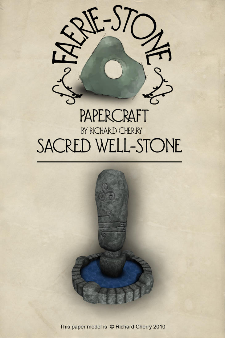 Sacred Well Stone by SiriusArtWorks